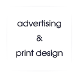 advertising and print design